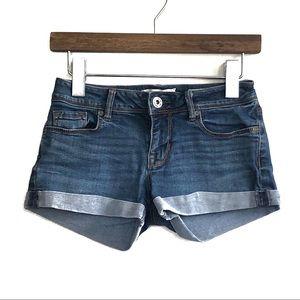 BULLHEAD   Denim Rollup Shorts